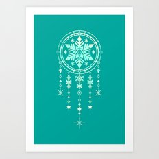 Frost and Dream Art Print