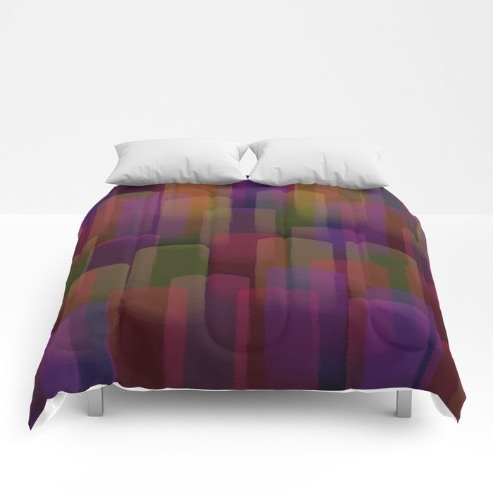 Abstract 101 Comforters