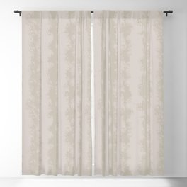 Taupe/Grey Stripe Abstract  Blackout Curtain