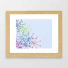 Snow Flakin' Framed Art Print