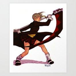 Maka Albarn Art Print