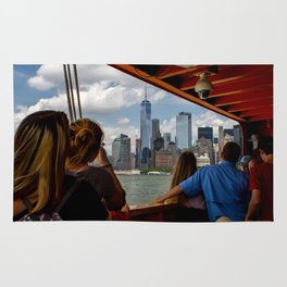NYC from The Ferry Rug