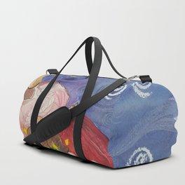 Apple Home, Christmas card. Duffle Bag