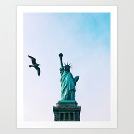 Liberté Art Print