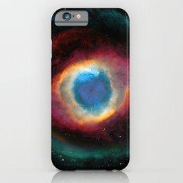 Helix (Eye of God) Nebula iPhone Case