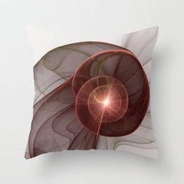 Abstract Digital Art, Fantasy Figure Throw Pillow