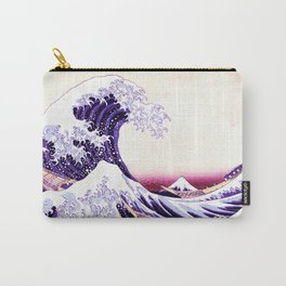 The Great wave purple fuchsia Carry-All Pouch