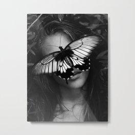 butterfly lies Metal Print