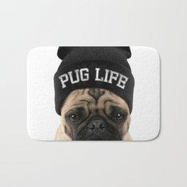 Pug Life Bath Mat