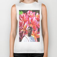 gucci Biker Tanks featuring gucci mane floral by Cree.8