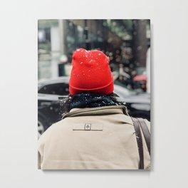 Red Vivid Metal Print