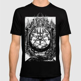 The Dreaming Abyss (Black and White) T-shirt