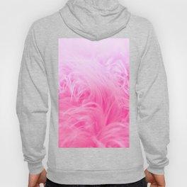 Pink Fur Pattern Hoody