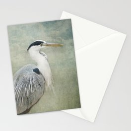 Cool Heron Stationery Cards