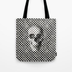 Wicker Skull Tote Bag