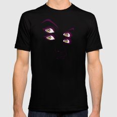 C. MEDIUM Black Mens Fitted Tee