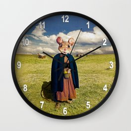 Little Mouse on the Prairie Wall Clock
