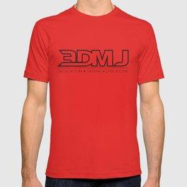 3DMJ Black Outline T-shirt