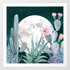 Desert Nights by Nature Magick Art Print