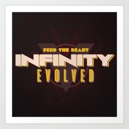 Infinity Evolved Art Print