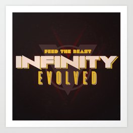 Infinity Evolved Art Print