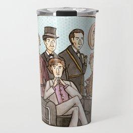 We Must Love Sherlock Holmes Travel Mug