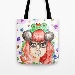 Miss Frog Tote Bag