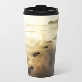 Footsteps in the Sky Travel Mug