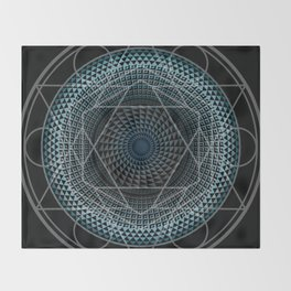Portal in Consciousness Throw Blanket