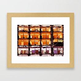 Demolition Framed Art Print