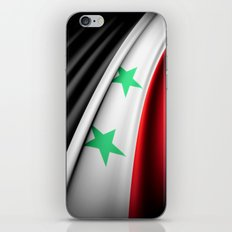Flag of Syria iPhone & iPod Skin