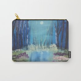 Nightfall at the pond Carry-All Pouch