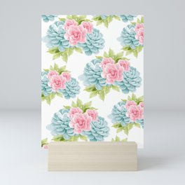 Succulents Flower Dream #1 #decor #art #society6 Mini Art Print