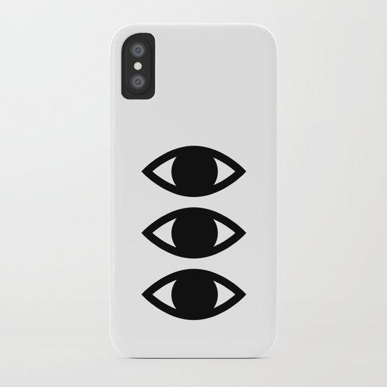 CLAIRVOYANT iPhone Case