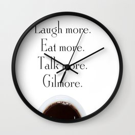 Gilmore Girls A Year in the Life Wall Clock