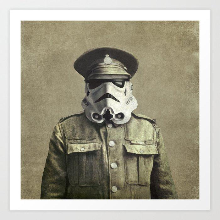 Sgt. Stormley - square format Art Print