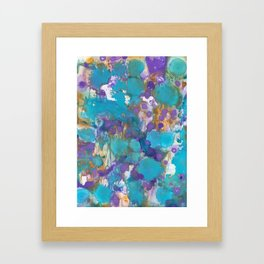 Blue Blossom Framed Art Print