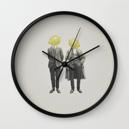 Lemon Mugshot Wall Clock