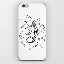 Eye and Horoscopes I iPhone Skin