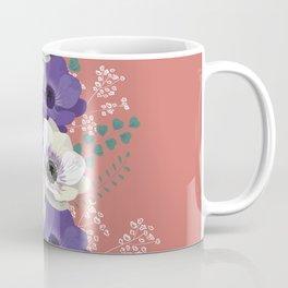 Anemones collection: bouquet II Coffee Mug