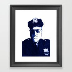 Don't Mess With Me Framed Art Print