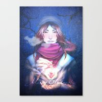 xmas Canvas Prints featuring Xmas by Plotto
