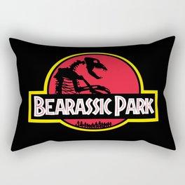 Bearassic Park Rectangular Pillow