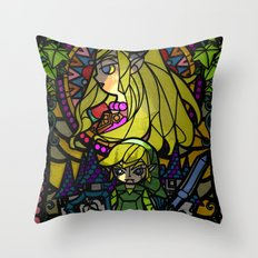 Sage of Time Throw Pillow