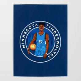 Jimmy Butler Minnesota Poster