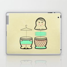 The mermaid who was tired of her tail ... Laptop & iPad Skin