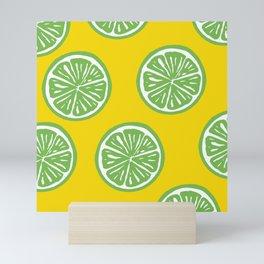 Limes Mini Art Print