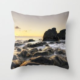 Atmosphere at sunset | Sicily Throw Pillow