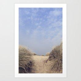 The Way To The Beach II Art Print