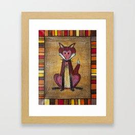 Fox Den Framed Art Print